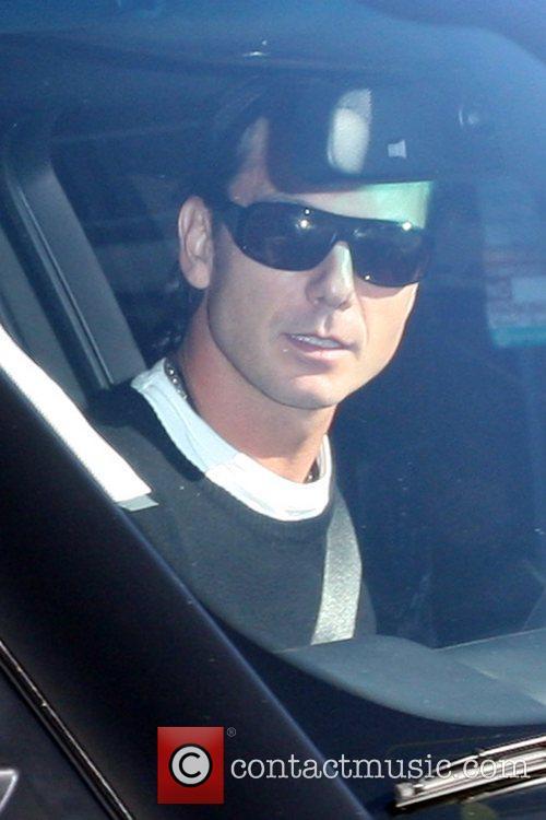 Gavin Rossdale seen leaving Madeo Restaurant after celebrating...