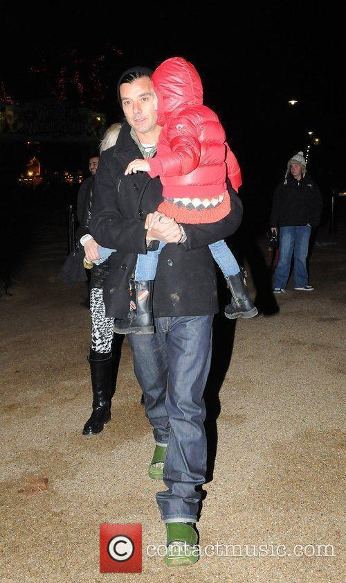 Gwen Stefani, Gavin Rossdale with children Kingston and...