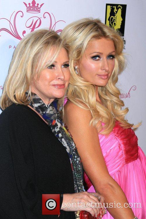 Paris Hilton with mother Kathy Hilton New Hairstyling...