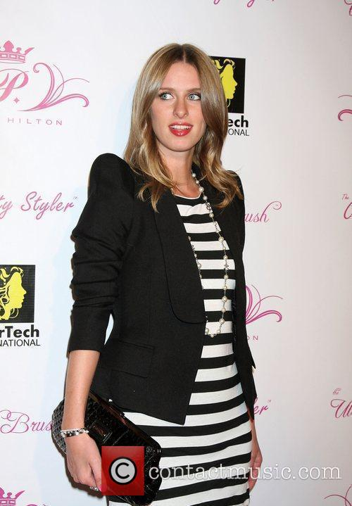 Nicky Hilton Paris Hilton's new hairstyling tools launch...