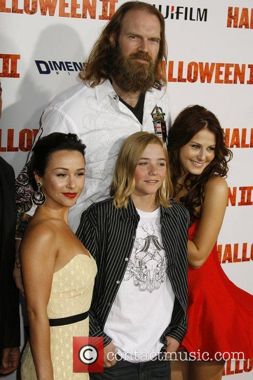 Danielle Harris, Tyler Mane and Scout Taylor-compton 1