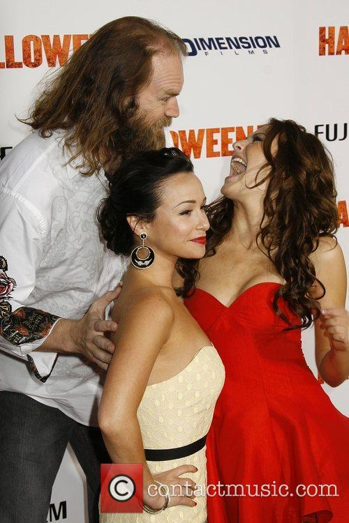 Danielle Harris, Tyler Mane and Scout Taylor-compton 3