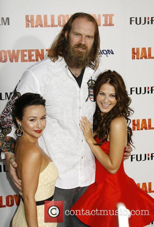 Danielle Harris, Tyler Mane and Scout Taylor-compton 2