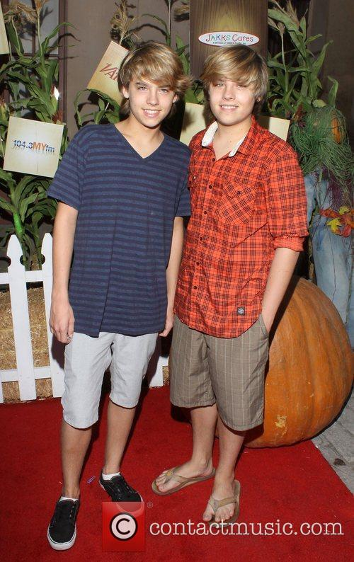 Dylan Sprouse and Cole Sprouse Camp Ronald McDonald...