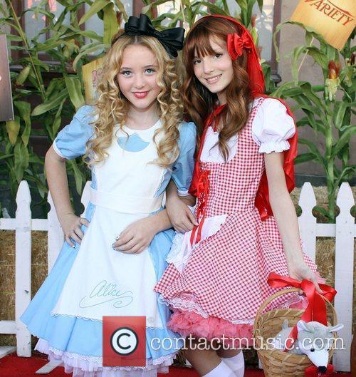 Kathryn Newton and Bella Thorne Camp Ronald McDonald...