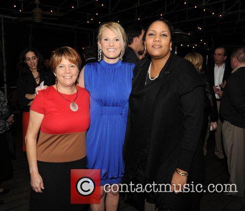 Heidi's mother Kathy Dugas, Heidi Hamels and Danielle...