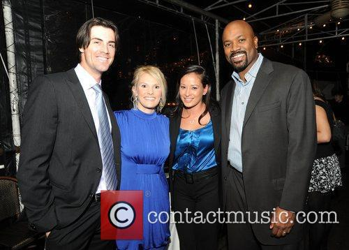 Phillies Pitcher Cole, Heidi Hamels, Melani and Billy...