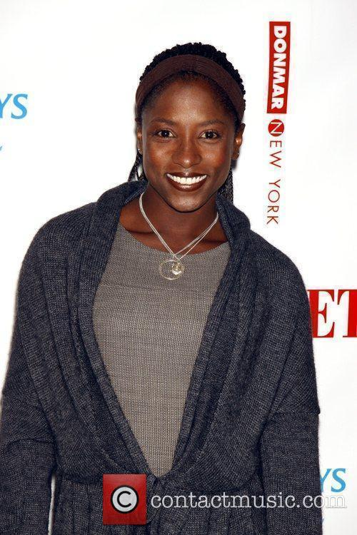 Rutina Wesley attending The new Broadway production of...