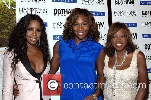 Kelly Rowland and Serena Williams 3