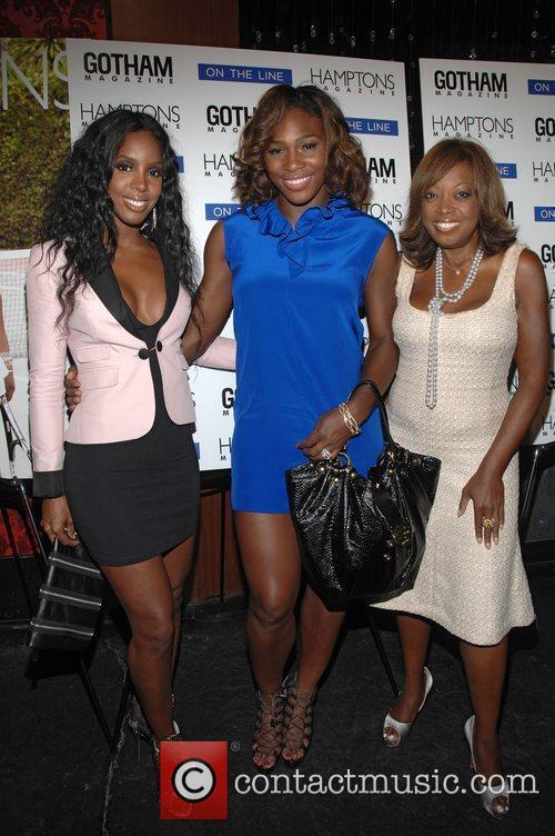 Kelly Rowland and Serena Williams 6