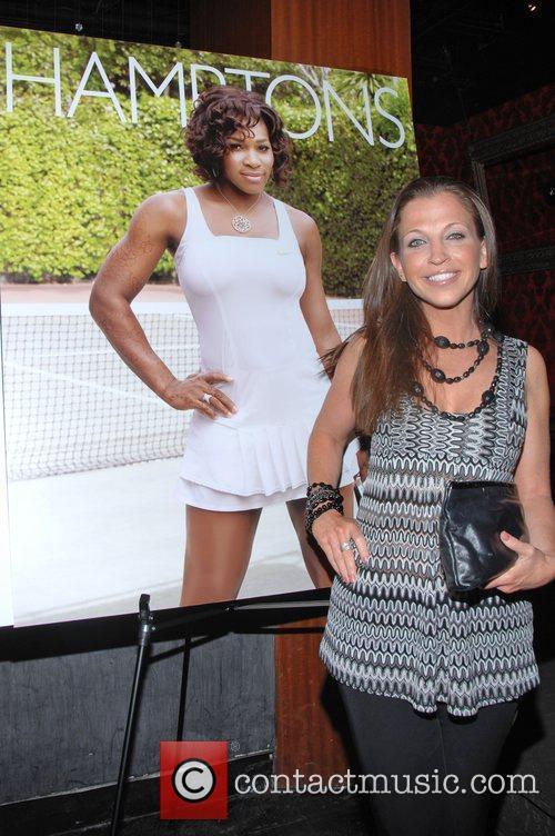 Wendy Diamond Serena Williams celebrates her cover of...