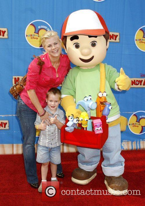 Alison Sweeney and her son Ben Los Angeles...