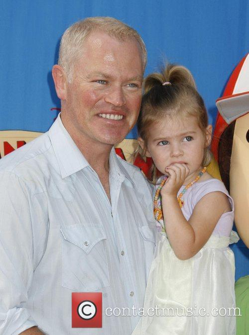 Neal McDonough and his daughter Catherine Los Angeles...