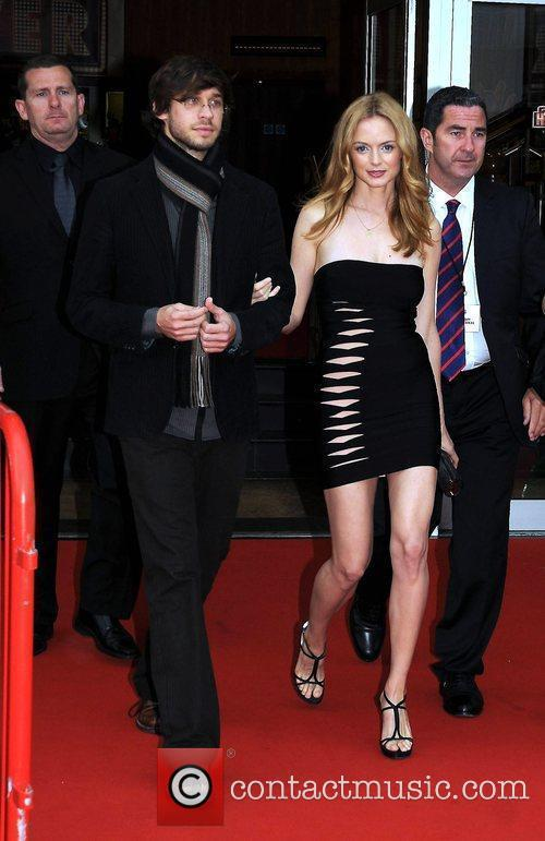 Heather Graham and her boyfriend Yaniv Raz The...