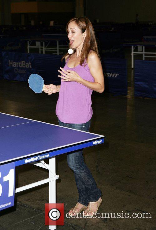 Autumn Reeser HardBat Classic Table Tennis Tournament at...