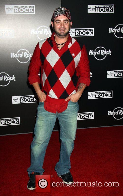 Chris Kirkpatrick Grand Opening of the Hard Rock...