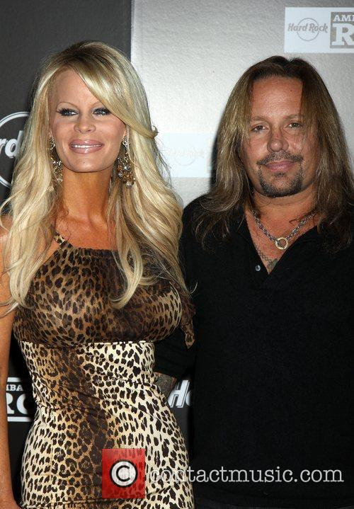 Vince Neil and Lia Neil Grand Opening of...