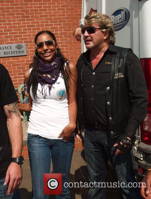 Su-Elise Nash, Mark Fuller Harley Davidson celebrity bike...