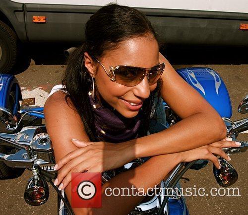 Su-Elise Nash Harley Davidson celebrity bike ride held...