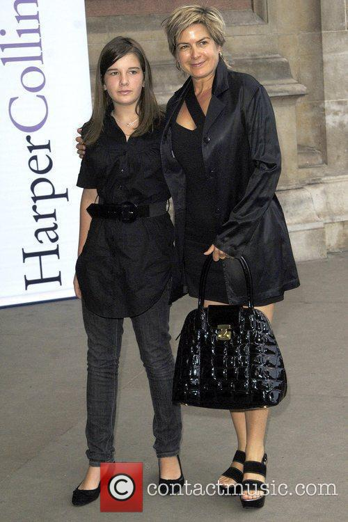 Penny Smith & Daughter HarperCollins Summer Party at...