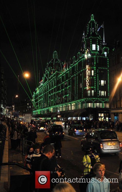 Harrods Christmas Lights switch on held at Harrods,...