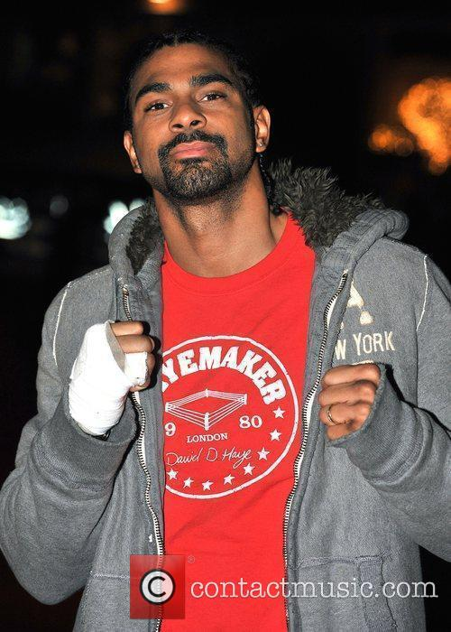 David Haye  The UK premiere of 'Harry...