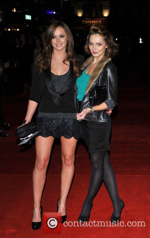 Kara and Hannah Tointon  The UK premiere...