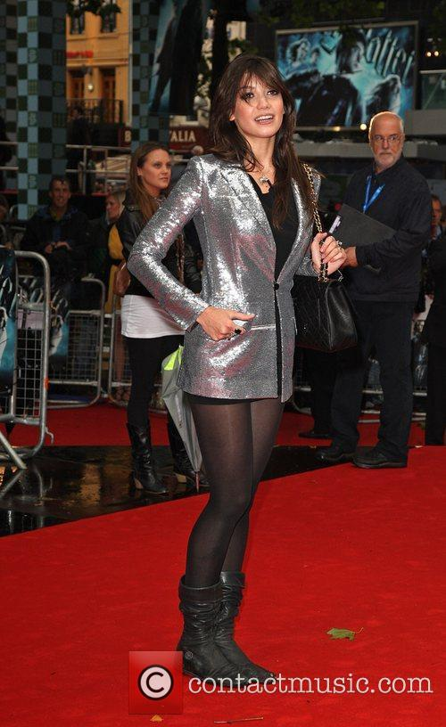 Daisy Lowe World Premiere of Harry Potter And...