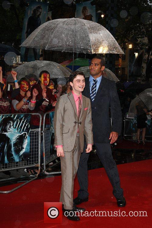 Daniel Radcliffe World Premiere of Harry Potter And...
