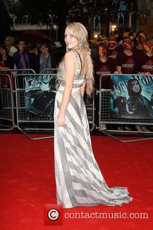Evanna Lynch World Premiere of Harry Potter And...