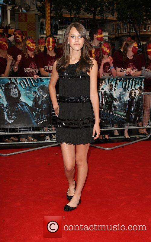 Faryl Smith World Premiere of Harry Potter And...