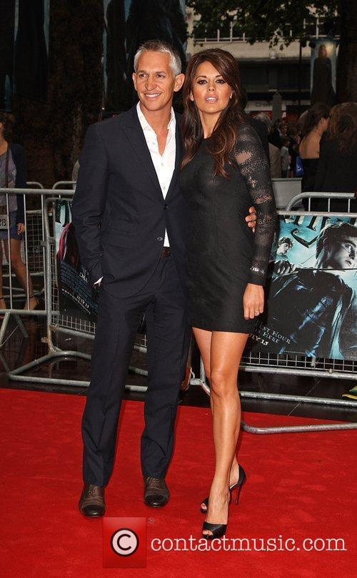 Gary Lineker and Danielle Bux World Premiere of...