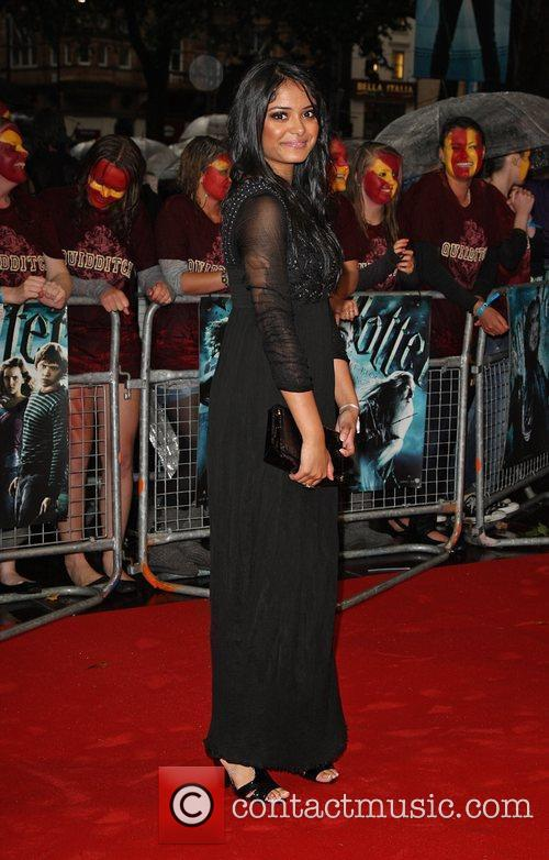 Natalia Tena World Premiere of Harry Potter And...
