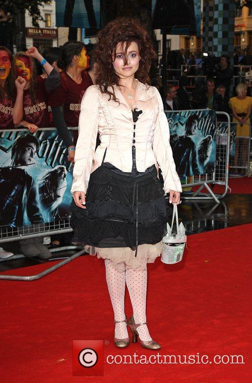 Helena Bonham Carter World Premiere of Harry Potter...
