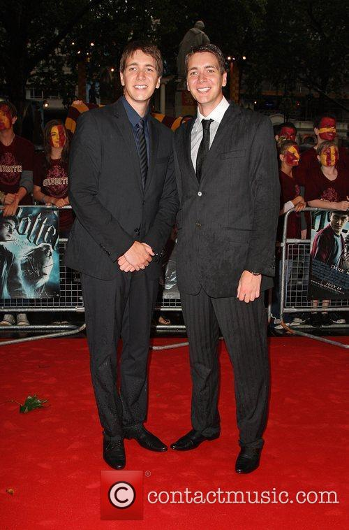 James Phelps and Oliver Phelps World Premiere of...