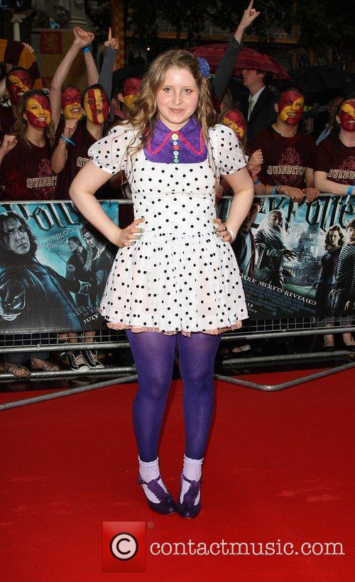 Jessie Cave, Harry Potter and Empire Leicester Square 2