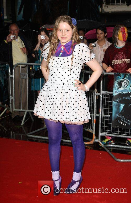 Jessie Cave World Premiere of Harry Potter And...