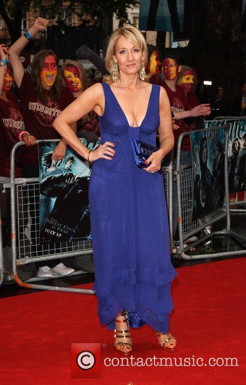 J.K. Rowling World Premiere of Harry Potter And...