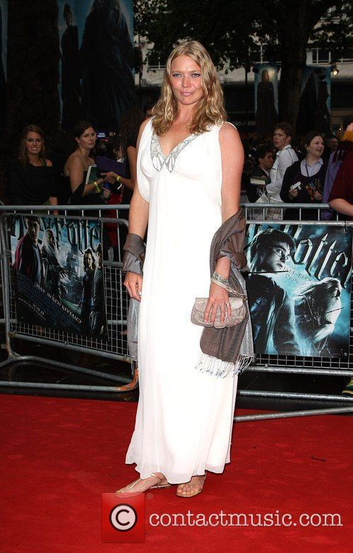 Jodie Kidd World Premiere of Harry Potter And...