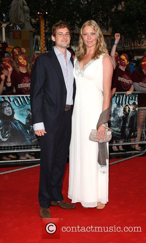 Jodie Kidd with her boyfriend Thomas George World...