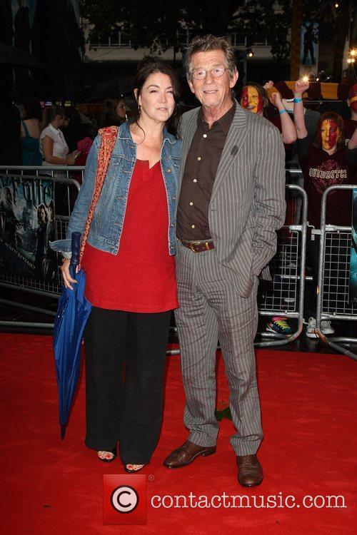 John Hurt, Harry Potter and Empire Leicester Square 6