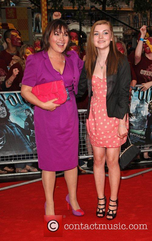 Lorraine Kelly with her daughter Rosie World Premiere...