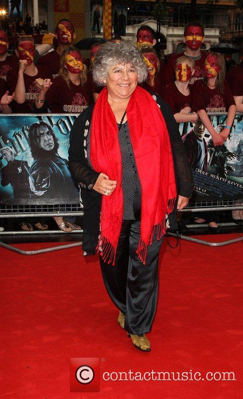 Miriam Margolyes, Harry Potter and Empire Leicester Square 2