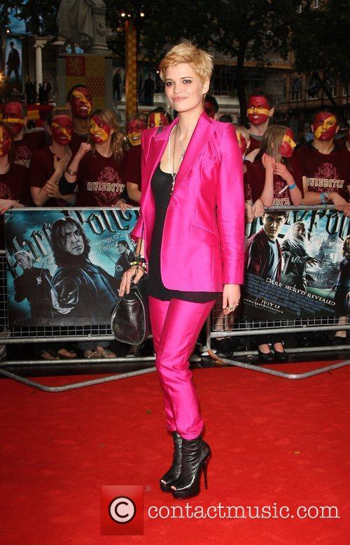 Pixie Geldof World Premiere of Harry Potter And...