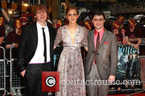 Rupert Grint, Emma Watson, Harry Potter and Empire Leicester Square 4