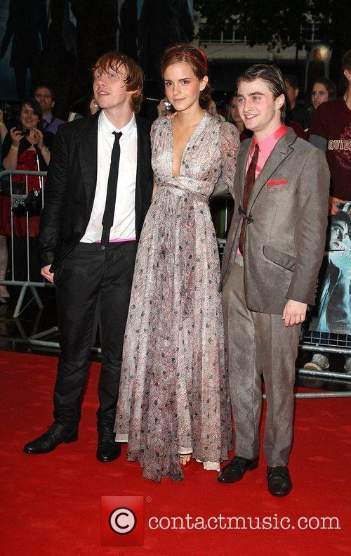 Rupert Grint, Emma Watson, Harry Potter and Empire Leicester Square 3