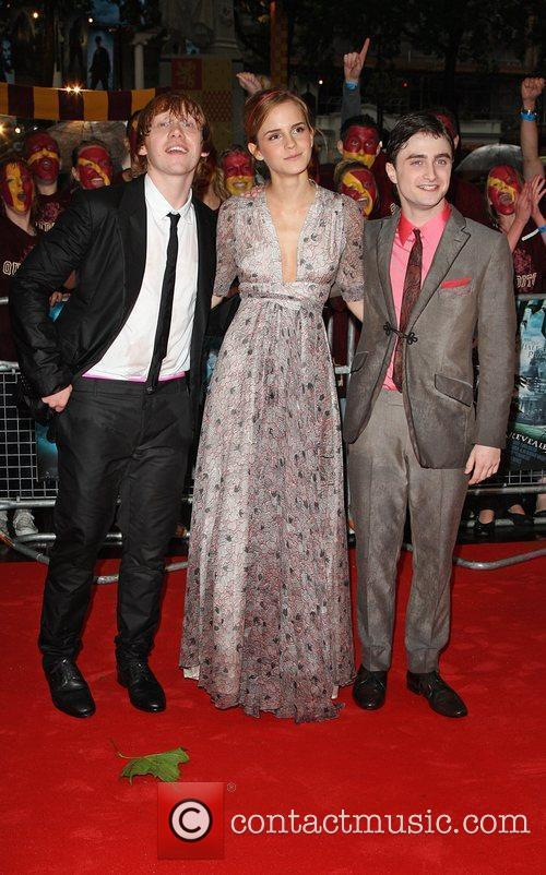 Rupert Grint, Emma Watson, Harry Potter and Empire Leicester Square 5