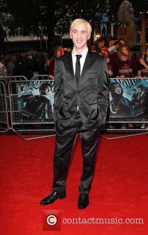 Tom Felton World Premiere of Harry Potter And...