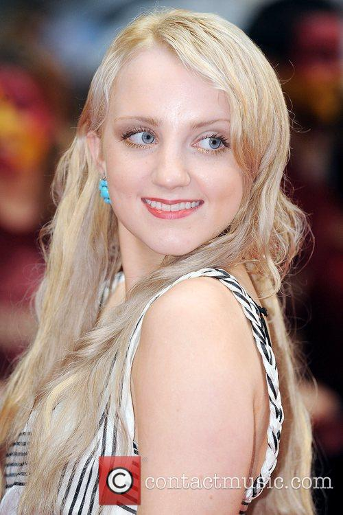 Evanna Lynch, Harry Potter and Empire Leicester Square 1