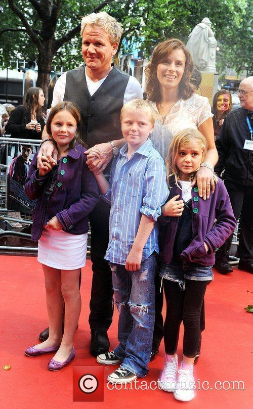 Gordon Ramsay, Harry Potter, Tana Ramsay and Empire Leicester Square 2